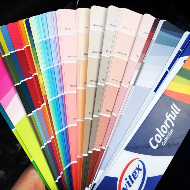 Реализация лакокрасочных покрытий бренда vitex