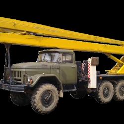 Высотные работы в России - Аренда автовышки 22 метра