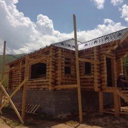 Деревянные дома в России - Изготовление срубов домов и бань